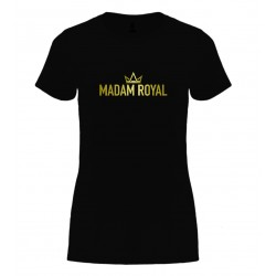 Tričko Basic - dámské - Originální Logo Madam Royal